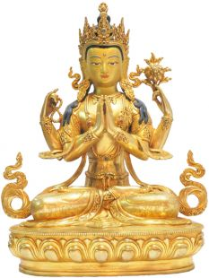 Four-arms Avalokitesvara