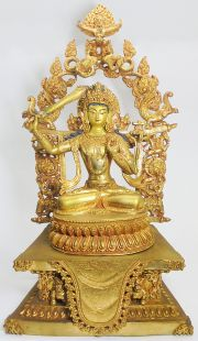 Manjushree (gilt gold)