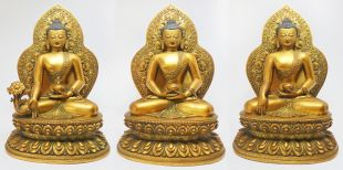 Three Buddha set