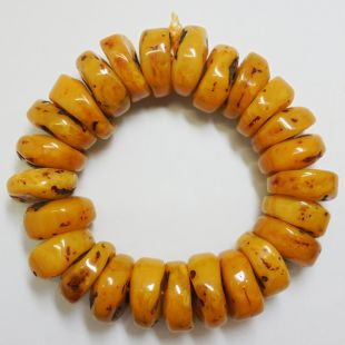 Antique Beeswax Bracelet